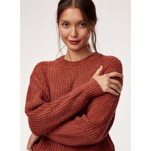 Aritzia Wilfred Essential Chenille Sweater